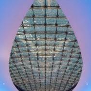 Weihnachtsmotiv 2013, Architektur, Decke