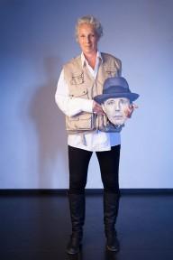 Mitglied des Dortmunder Sprechchors, Foto: Michael Rasche