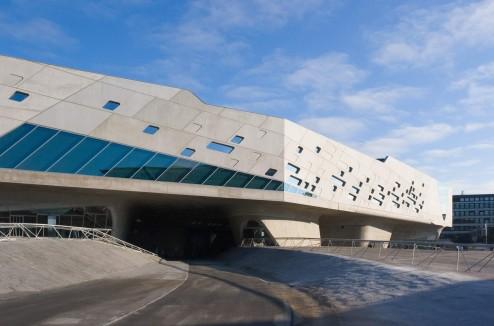 Phaeno Wolfsburg, 2005 , Architektin: Zaha Hadid