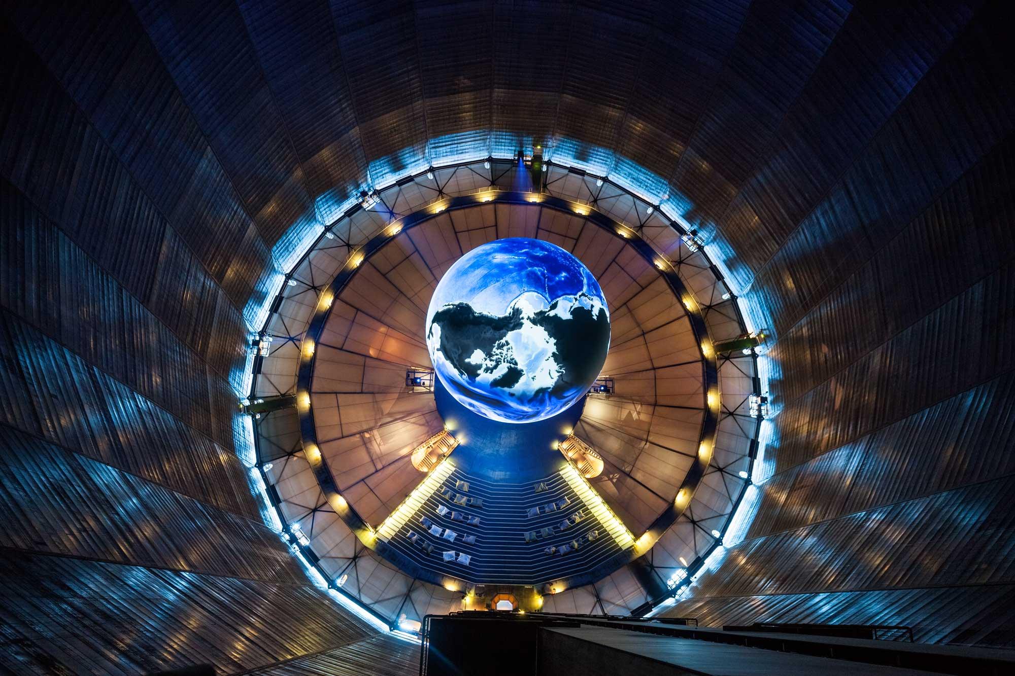 Gasometer Oberhausen Ausstellung öffnungszeiten