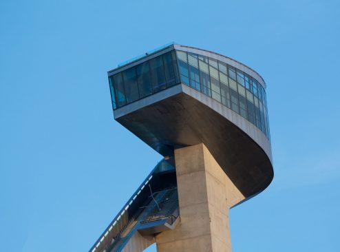 "Sprungschanze ""Bergisel"", Architektin: Zaha Hadid"